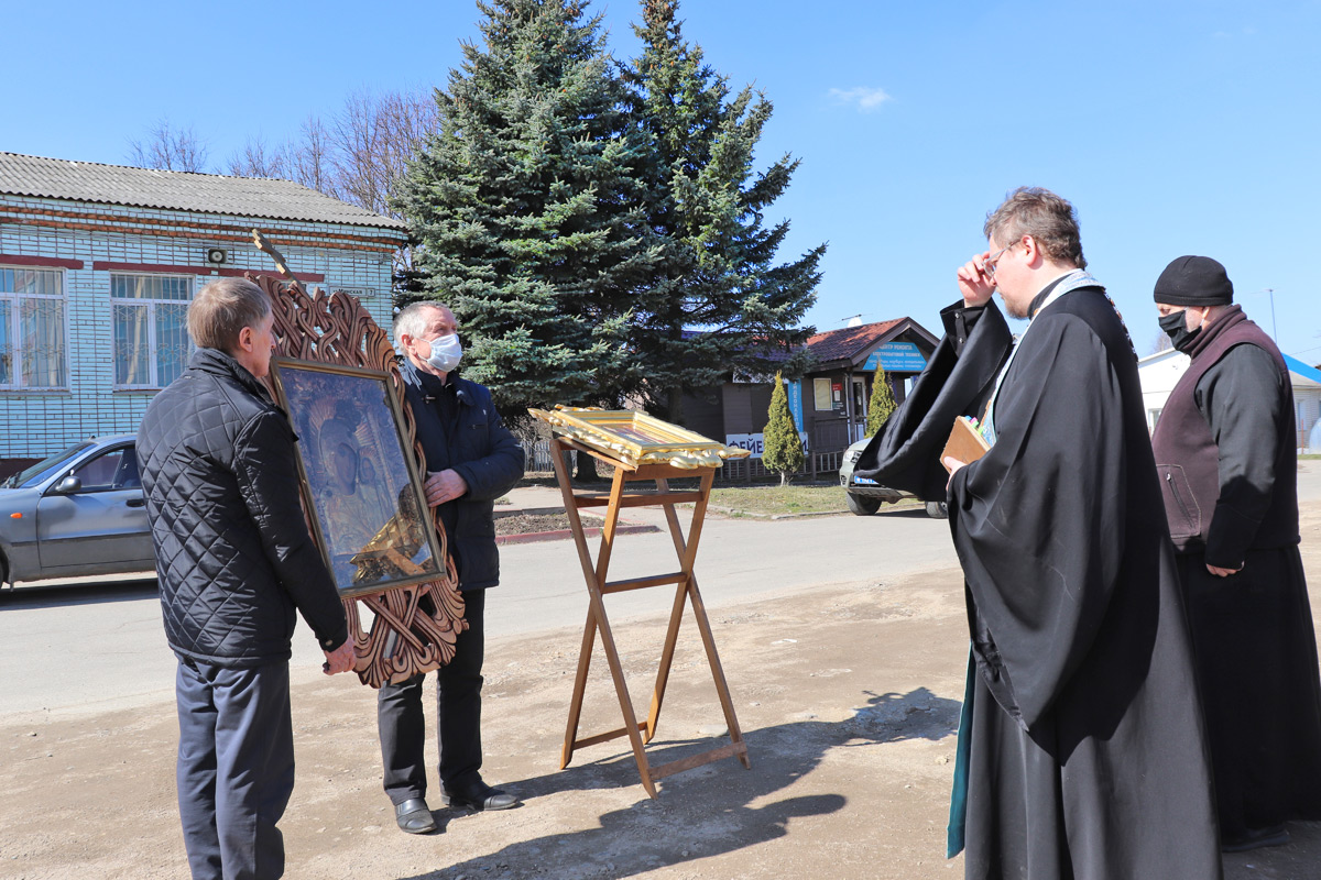 Молитва о прекращении губительного поветрия в Печерске и окрестностях
