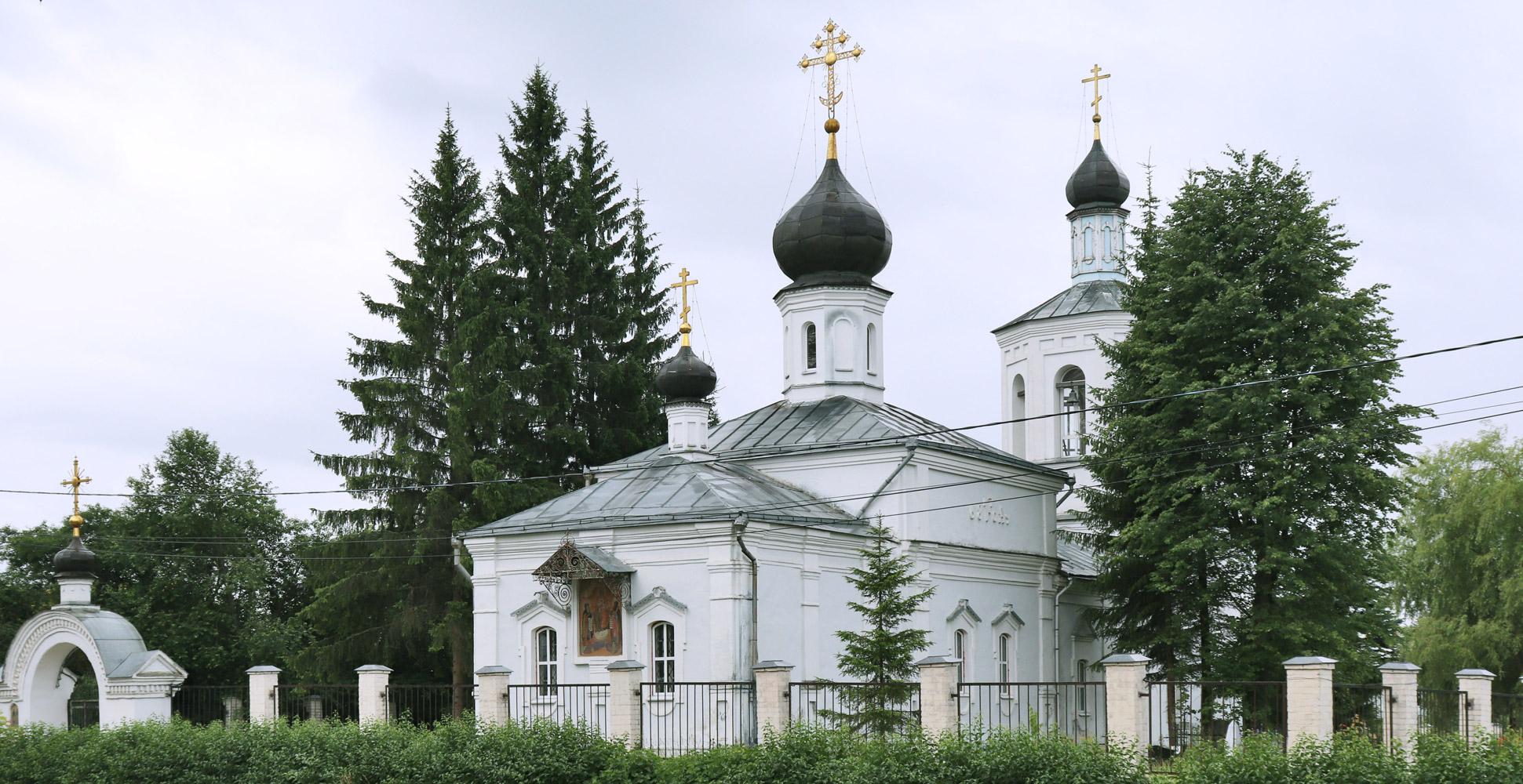 Храм в честь святых преподобных  Антония и Феодосия Печерских